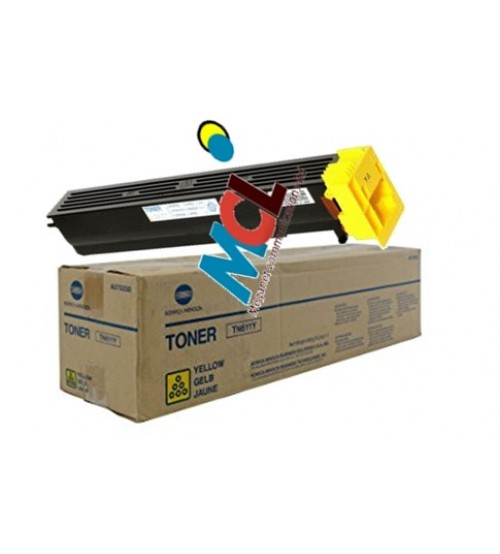 Konica Minolta TN-611Y Toner Cartridge -Yellow