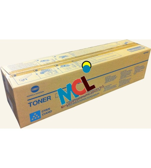Konica Minolta TN-613 Toner Cartridge -Cyan