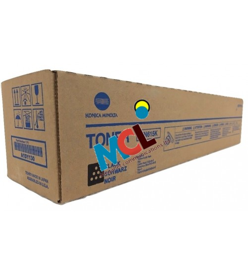 Konica Minolta TN-615K Toner Cartridge -Black