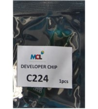 Bizhub C224/C284/C364 DV-512 Set (Black, Cyan, Magenta, Yellow) Developer Chip