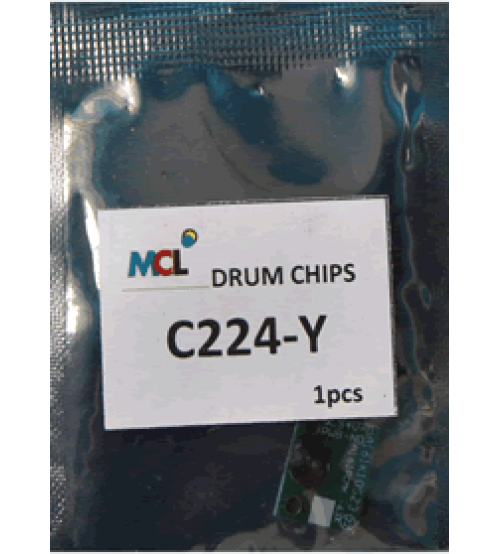 Bizhub C224 C284 C364 DR-512Y Drum Chip - Yellow