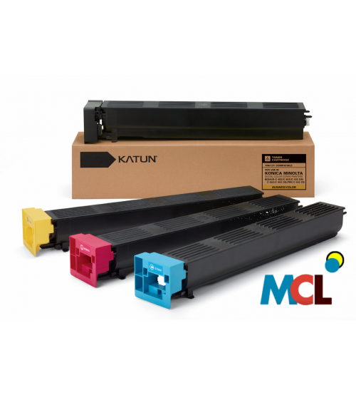 Katun Compatible For Toner Cartrigde TN-613 set (Black, Cyan, Magenta, Yellow)