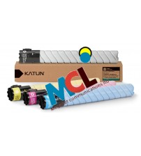 Katun Compatible For TN-321 Toner Cartridge set -  (Black, Cyan, Magenta, Yellow)