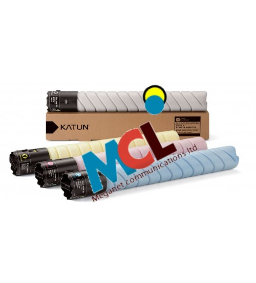 Katun Compatible For TN-512 Toner Cartridge set -  (Black, Cyan, Magenta, Yellow)