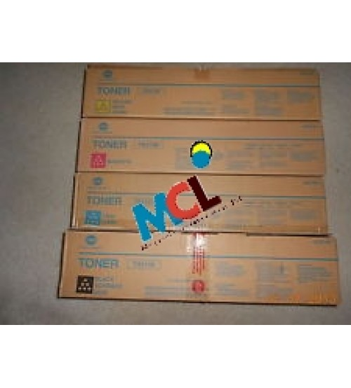 TN-213 OEM Toner Cartridge Set (Black, Cyan, Magenta, Yellow)
